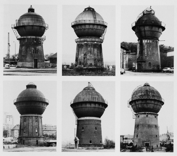 "Bernd and Hilla Becher, ""Water Towers"" 1965–1982"